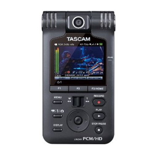 타스캠 레고더 녹음기 TASCAM DR-V1HD HD Video/Linear PCM Recorder