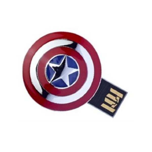 캡틴 아메리카 드라이브 Marvel Avengers Movie America Captain 8 Gb Usb 2.0 Flash Drive Superhero