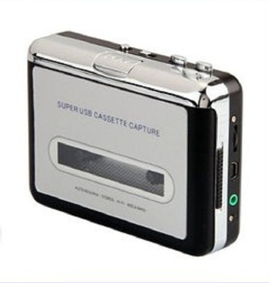 카세트 플레이어/Generic Portable USB Cassette Deck to MP3 Converter Tape-to-MP3 Player