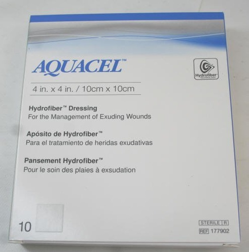 컴버텍 아쿠아셀 반창고 177902 Convatec Aquacel Hydrofiber Box of 10