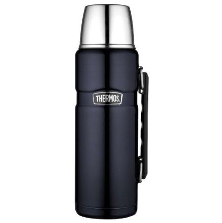 써모스 40온스 보온병/Thermos Stainless King 40-Ounce Beverage Bottle, Midnight Blue