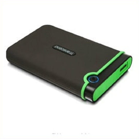 트랜센드 외장하드 Transcend 1TB 2TB USB 3.0 External Hard Drive - Military Drop Standards/TS1TSJ25M3