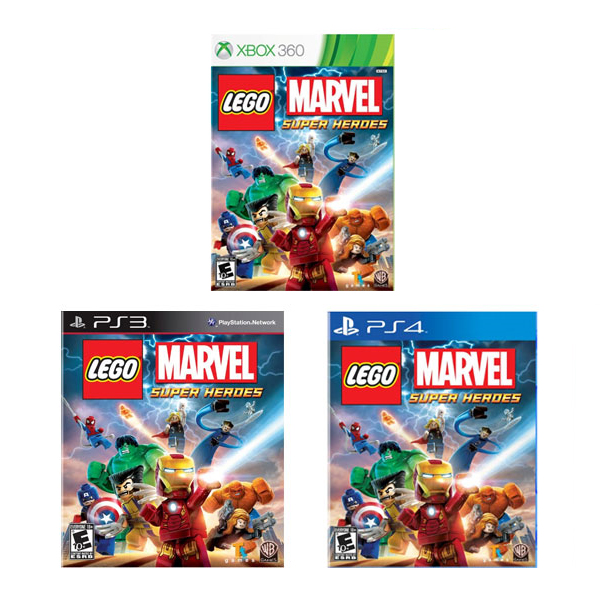 마벨 슈퍼히어로 게임 LEGO Marvel Super Heroes PlayStation4/ PS3/ XBOX