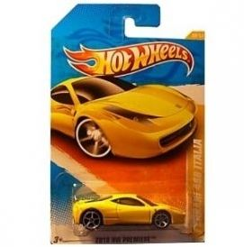 자동차모형/페라리/Hot Wheels 2011 Ferrari458 Italia 2010 New Models 34/240 1:64 Scale