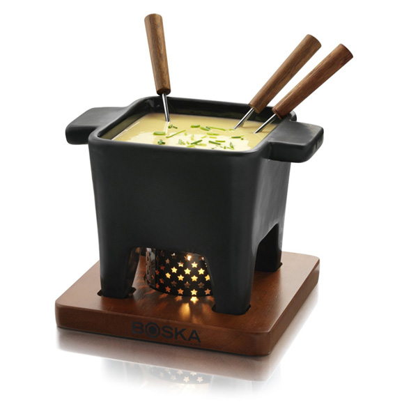 보스카 홀랜드 치즈 퐁듀 세트 Boska Holland Tapas Cheese Fondue Set Black