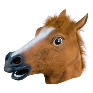 말 마스크/Accoutrements Horse Head Mask