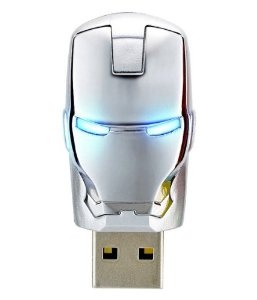 어벤져스 아이언맨 USB/The AVENGERS Ironman War Machine Mask USB Flash Drive 8GB
