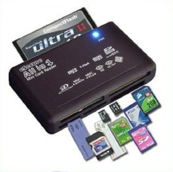 카메라 카드 리더기/eSecure All-in-1 USB Card Reader for all Digital Memory Cards